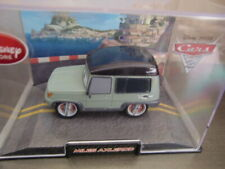 Disney Store Disney/Pixar Cars 2 MILES AXLEROD Diecast Car 1:43 Collector Case