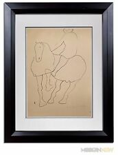 Marino MARINI Lithograph SIGNED Ltd EDITION 1945  +Custom Archival FRAME 20x24in
