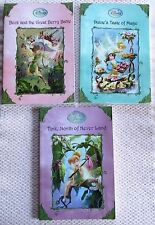 "3 BOOK SET, DISNEYS ""FAIRIES"". SOFTCOVERS ALL PREOWNED."