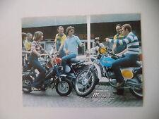 advertising Pubblicità 1977 MALAGUTI RONCO 21/MOTORIK
