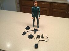 Vintage Louis Marx Captain Maddox Action Figure W/ Accessories shown.