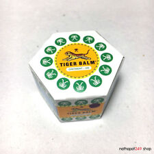 1x10g Tiger Balm WHITE Oinment Massage Relief Muscle Pain Swelling Inflammation