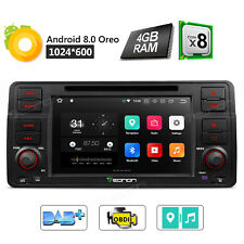 """For BMW E46 M3 7"""" Android 8.0 Car Stereo DVD GPS Touch Screen Radio Octa Core 4G"""