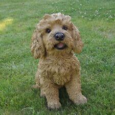 Gartenfigur Hund Basset Fauve de Bretagne 3046 Haus Garten Deko lebensecht Figur