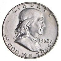 1952-D Franklin Half Dollar - 90% Silver - Tough Coin! *222*