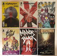 Cyberpunk 2077, Berserker Unbound, Manor Black, X-Ray Robot #1 & More! All NM!