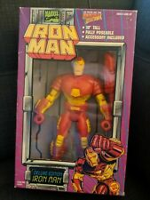 Vintage IRON MAN DELUXE EDITION Marvel Action 10 inch 90s Toybiz