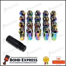 Neo Chrome - Epman Racing Steel Acorn Wheel Lug Nuts - JDM  - M12 x 1.5 - UK