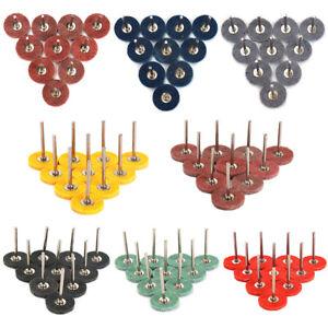 "1"" Nylon Fiber Grinding Head Polishing Wheel Rotary Tool 1/8""Shank 180-3000 Grit"