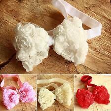 Ropa, calzado y complementos de rosa de encaje para bebés