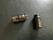 2 Black Gate F Series highest grade polar 1000uF 6,3V capacitor -  ultra rare!