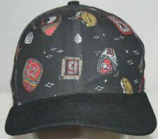 41cb9b8478147 Nike Air Pippen 6 Rings Snapback Hat Black Red 694298-010 Adjustable Cap  Bulls