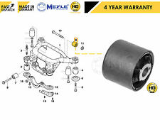 FOR BMW 3 SERIES E46 REAR DIFFERENTIAL BEAM BUSH BUSHING MEYLE HD 33176751808