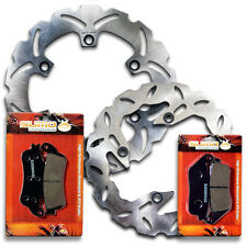 Honda F+R Brake Rotor+Pads FSC/FJS 600 A Silverwing ABS[03-11] D Non ABS [07-10]