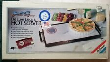 "Vintage Broil King Deluxe Electric Hot Server Warming Tray 30"" L x 11"" W"