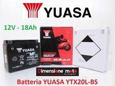 Batteria YUASA YTX20L-BS 12V-18Ah per BUELL RSS 1200 dal 1991 >1993