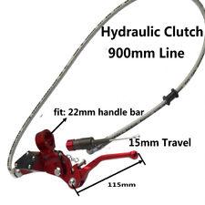 Motorcycle Hydraulic Clutch Lever Master Cylinder kit Dirt Bike ATV QUAD GoKart