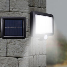 56 LED Solar Powered Motion Sensor Light Security Flood Outdoor Garden Path Lamp