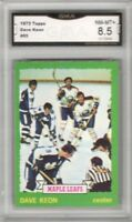 1973-74 Topps #85 Dave Keon | Graded NM/MT+ | Toronto Maple Leafs