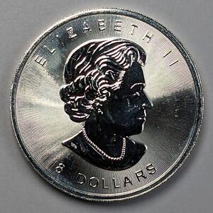 2015 Canada 8 Dollar Buffalo 1 1/4oz Pure Silver 157996B