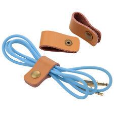 Leder Cable USB CD DVD Kabel Clip Halter Kabelbinder Kabelhalter Manager POP