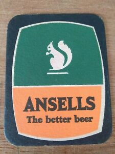 The Ansell's Brewey Beermat Cat 127, 1965