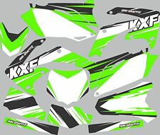 Graphic Kit for 2009-2011 Kawasaki KX450f KX 450f shrouds fender plastic decals