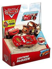 NEW Disney Pixar Cars 1:55 Lightning McQueen Wheel Action Drivers 2 in 1 Action