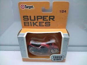 Super Bikes 1:24 Scale / Kawasaki GPZ 1100 - Red - Model Motorbike