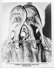 I MARRIED A MONSTER FROM OUTER SPACE sci-fi HORROR MONSTER Rare Photo