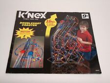 Micro Knex Instruction Manual Only #50542 Doubleshot Coaster Instructions Book