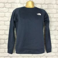 THE NORTH FACE MENS UK S NAVY BLUE MITTELEGI CREW NECK SWEATSHIRT CASUAL SPORTS