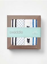 New RARE babyGap X Aden & Anais 4 Pack Cotton Muslin Swaddle Blankets 47 X 47