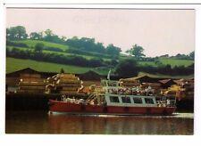 Postcard: My Queen Pleasure Cruiser on the River Dart, Devon