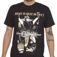 What Is Best In Life Quote Conan The Barbarian T-Shirt Arnold Schwarzenegger