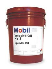 Mobil Velocite 3, Spindle Oil, 5 gal., 103866