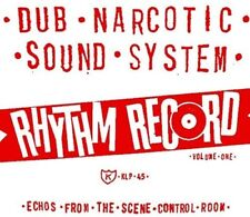 Dub Narcotic Sound S - Rhythm Record 1 - One Echoes From Scene Control [New Viny