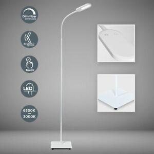 Lampadaire LED design lampe sur pied salon 8W luminosité réglable dimmable TOUCH