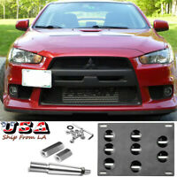 Passenger Side Genuine Mitsubishi OE RIGHT FRONT BUMPER BRACKET 6400B108 Fits ALL Evo Evolution X 10