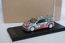 Provence Moulage Kit Montado 1/43 - Peugeot 206 WRC Rallye Cataluña 2001 N°2