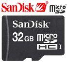 SanDisk 32GB microSD 32GB microSDHC micro SD 32G Class 4 SDHC Card C4 Bulk *W/OA