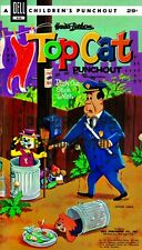 Vintage Reprint - 1962 Top Cat Punch-Out Book - Reproduction