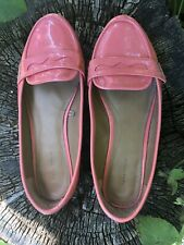 Zara Flat Loafers Coral Size 36 UK 3/3.5 ?