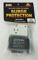 Burg Surge Protection DTK-APK-1 - 110V Power & Dialer Protector Alarm Grounding