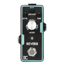 Electric Guitar Reverb Effect Pedal Mini Single Effect with True Bypass Design