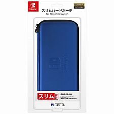 Hori JAPAN Official Licensed Slim Hard Pouch Case for Nintendo Switch Blue