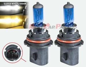 9007 HB5 Xenon HID Headlight High/Low Beam Halogen Bulbs 5000K #1001