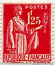 """FRANCE STAMP TIMBRE N°370 """" TYPE PAIX 1 F 25 """" NEUF x TB"""