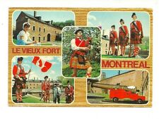 LE VIEUX FORT, MONTREAL QUEBEC, CANADA CHROME POSTCARD