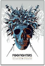 Foo Fighters Perth 2015 Silkscreen Concert Poster Art Ken Taylor S/N